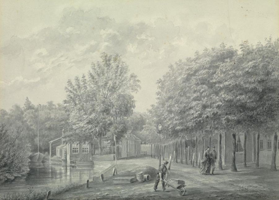 Schiestraat - 1878