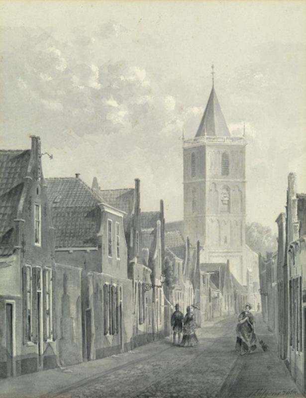 Kerkstraat - 1876