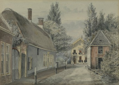 Kruising Schiestraat/Gooweg – 1885