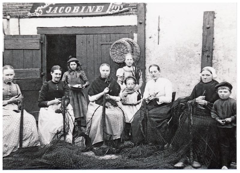 Nettenboetsters ca. 1917