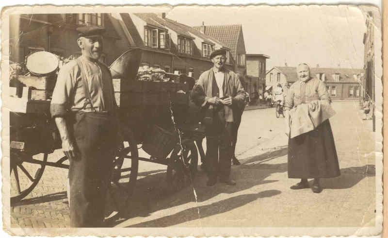Groenteboer aan huis, Piet Heinstraat