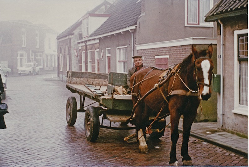Vervoer (vracht) Dirk Barnhoorn alias De Kuks 1977 (Cor van Duijn)