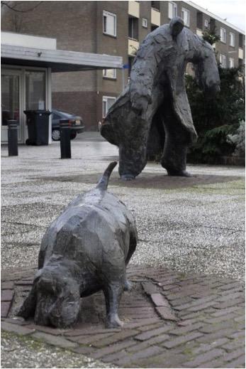 Elselien van der Graaf - Man met Hond